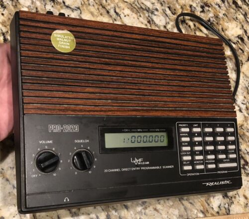 Realistic Pro-2023 20-128 Programmable Scanning Radio Receiv