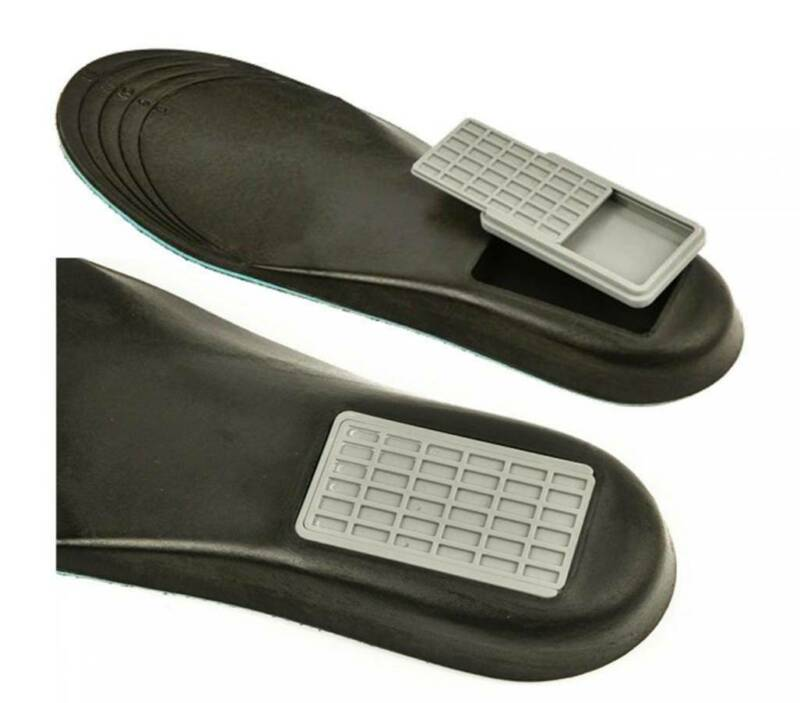 Shoe Insert Concealed Compartment