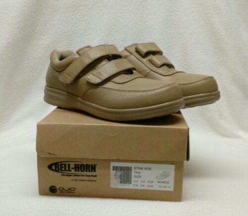Bell Horn Tan Monroe Comfort Control 7 1/2 W Women's Diabeti