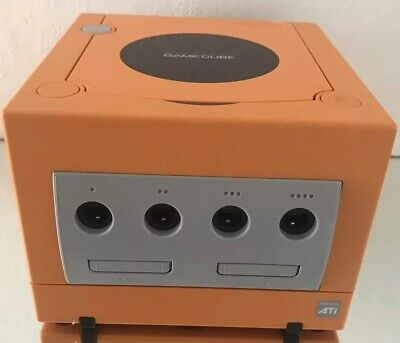 Nintendo Gamecube Spice Orange Dol-101 (jpn) Japanese JAPAN NTSC-J Console ONLY