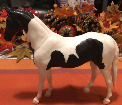 Vintage Breyer Classic Black and White Pinto Horse