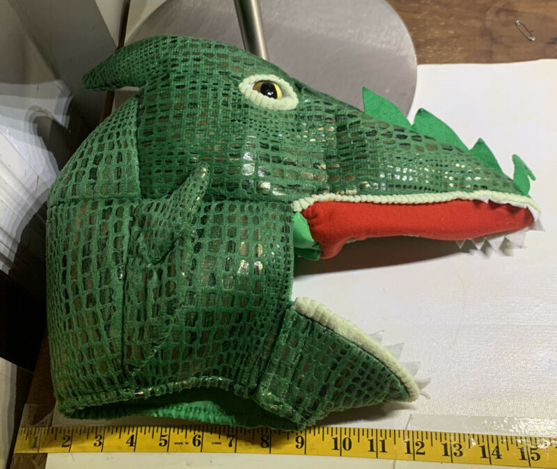 Pottery Barn Kids Green Dragon Costume 3T