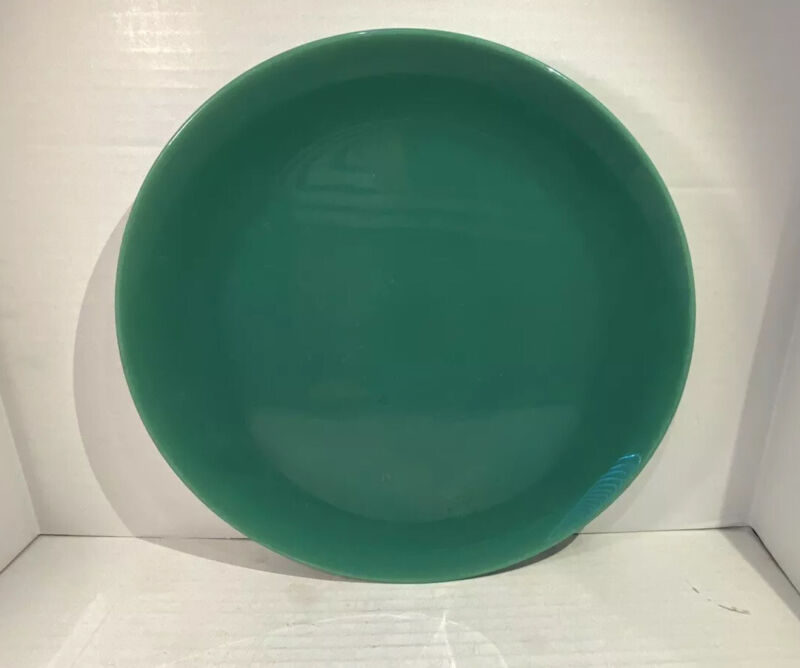 """Catalina Island Pottery Turquoise Blue Large 12 1/2"""" Charger Plate"""