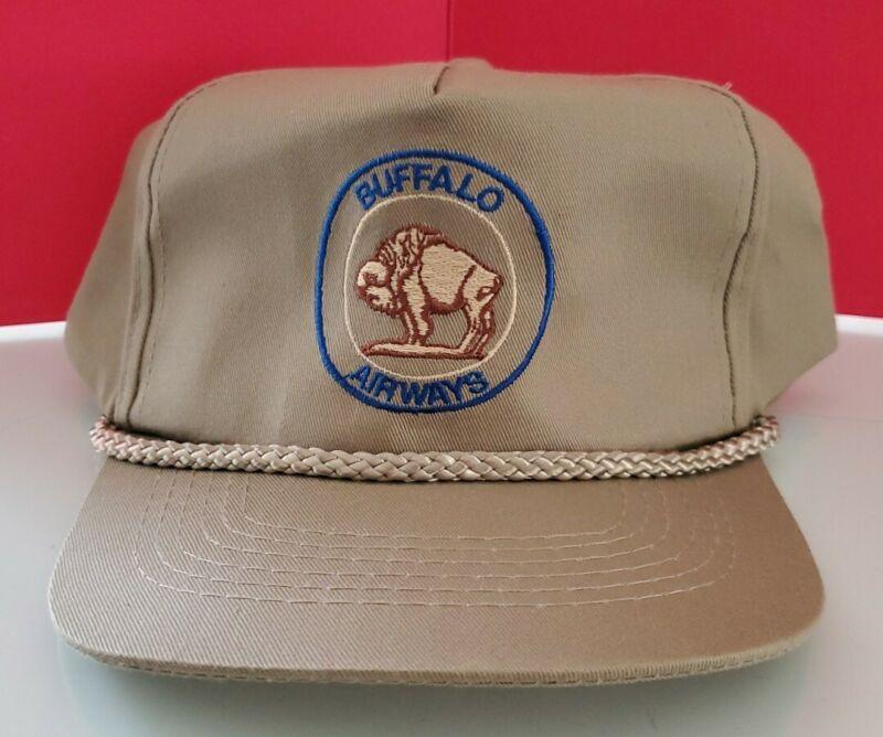 Vintage Original Buffalo Airways Hat Mint Never  Worn