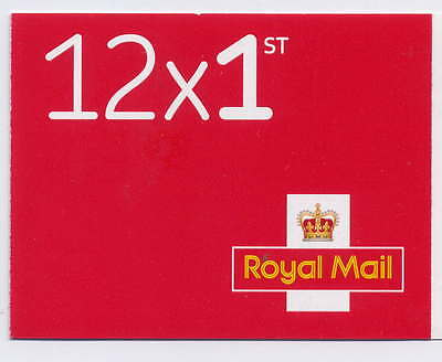 GB NEW RED 2016 M16L REVISED FONT 12 x 1st CYLINDER W7 SBP BOOKLET