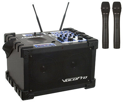 Vocopro - 100W Stereo All-In-One Mini PA/Entertainment Syste
