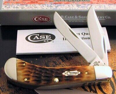 Case Small Saddlehorn Knife 2009 Crandall Stamp & Tony Bose Design Mint AAA+ NR
