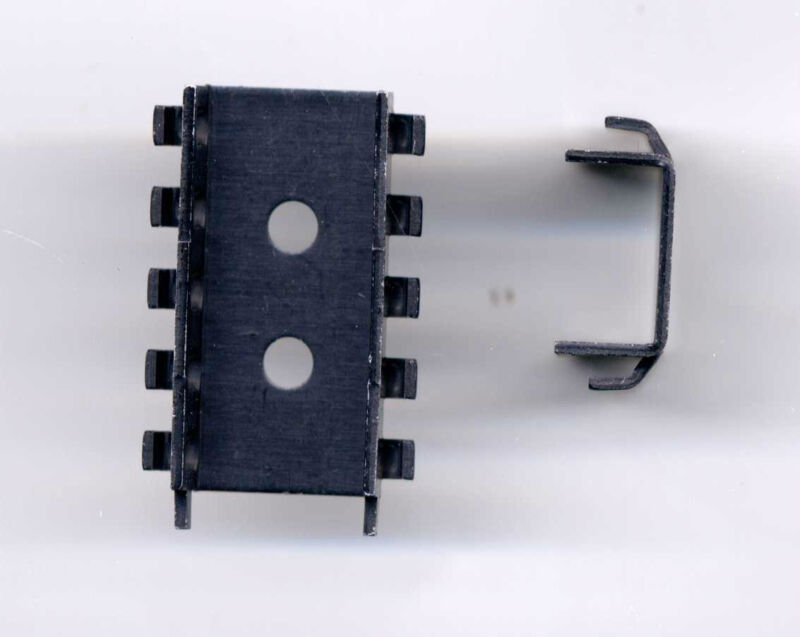 Heatsink for 2 Vertical TO-220 case devices - 2 pcs