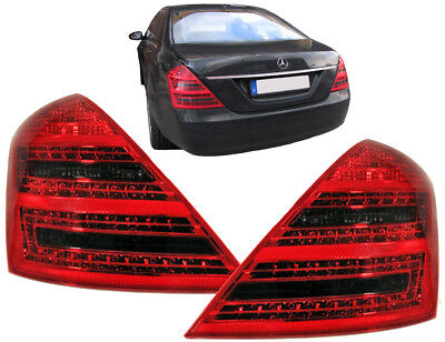 LED Rückleuchten rot schwarz Facelift Optik für Mercedes S Klasse W221 05-09