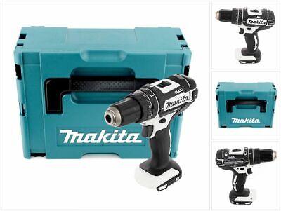 Makita DHP482ZJW Taladro combi percutor a batería18V+Makpac-Sin batería/cargador