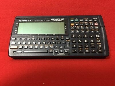 USED Sharp G850VS Pocket Computer [Function Calculator] F/S From Japan