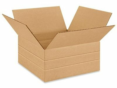 50 12 12 X12 12 X 6 Multidepth Cardboard Record Mailer Shipping Box Boxes
