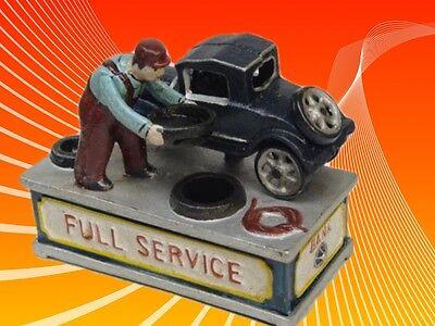 Spardose mechanisch Full Service Weihnachten Geschenk Vintage Deko Spielzeug