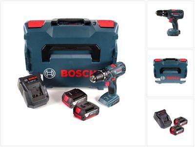 Bosch GSB 18-2-Li Plus 18V Schlagbohrschrauber + 2x 3,0 Ah Akku + Lader + L-Boxx