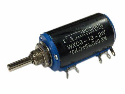 10k Ohm Wire Wound Multiturn Potentiometer
