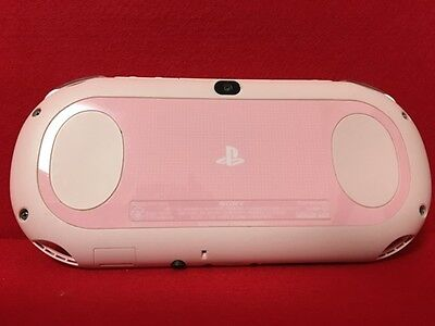 USED PlayStation (R) Vita Wi-Fi model Light pink / white F/S From Japan