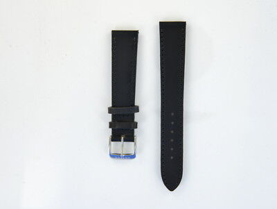 NOMOS Horween Genuine Shell Cordovan Lederband 18 mm schwarz 18638