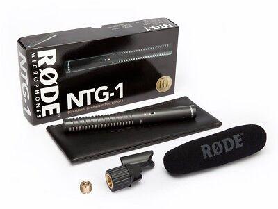 Rode NTG1 Directional Condenser Shotgun Microphone NTG 1 Mic for sale  New Westminster