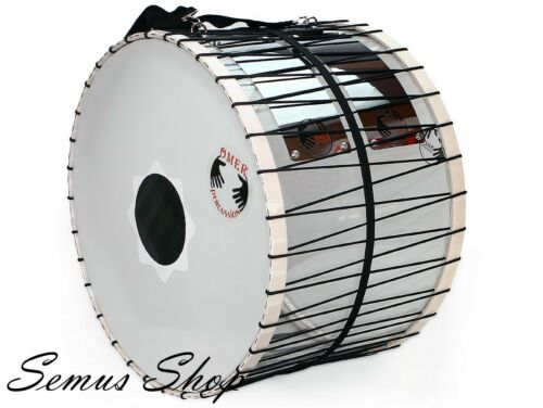 Oriental Pro 20 1/2in Plexi Davul Drums / Percussion With LED 100% Handmade (12)