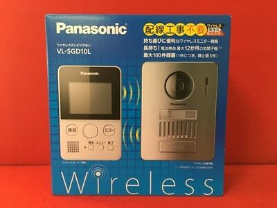 NEW Panasonic Wireless Telephone Doorphone VL-SGD10L Monitor camera F/S Japan
