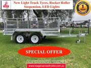 10x5 TANDEM HEAVY DUTY HOT DIP GALVANISED TRAILER, ELECTRIC BRAKE The Basin Knox Area Preview