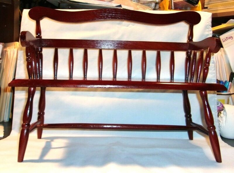 DOLL  J*230A  - 47546 Wooden Doll Bench