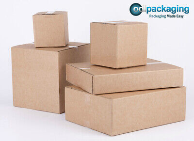 25 Cardboard Packing Boxes 12