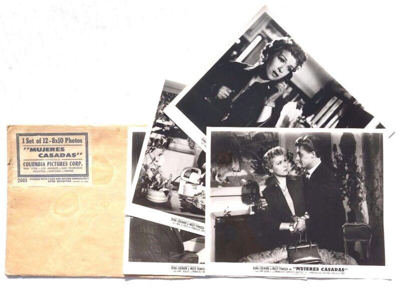 Vtg 1954 Mujeres Casadas Movie Press Kit Photos (Elina Colomer / Nelly Panizza)2