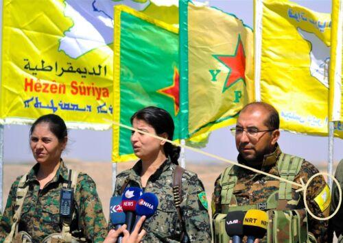 Operation Wrath of Euphrates HÊZÊN SÛRIYA DEMOKRATÎK Syrian Democratic Forces