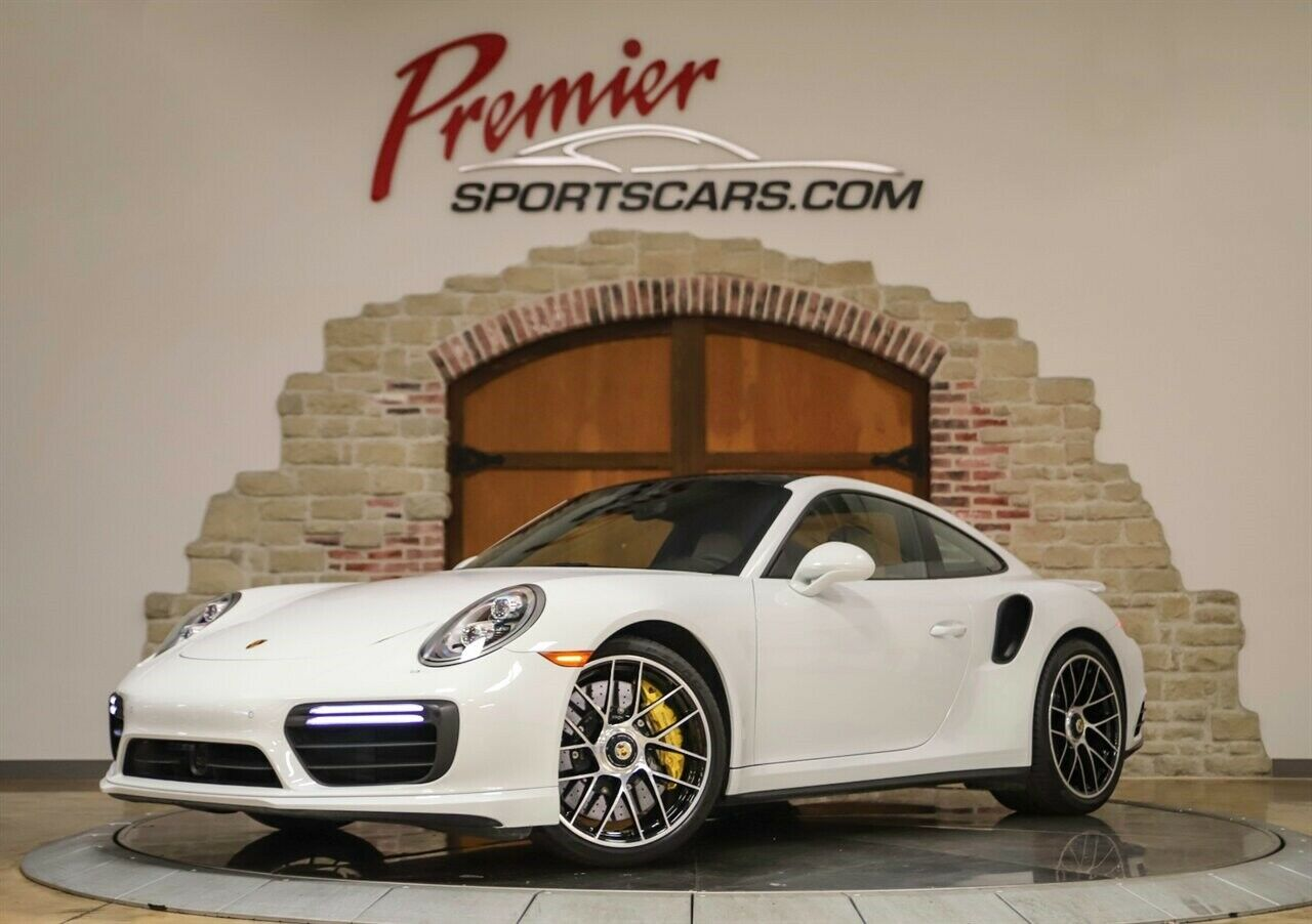 2017 Porsche 911 Turbo S, Only 6000 Miles CPO warranty