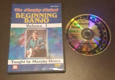 Beginning Banjo Volume 1 (DVD, 2007) Murphy Henry bluegrass music (Bluegrass Banjo 1 Dvd)