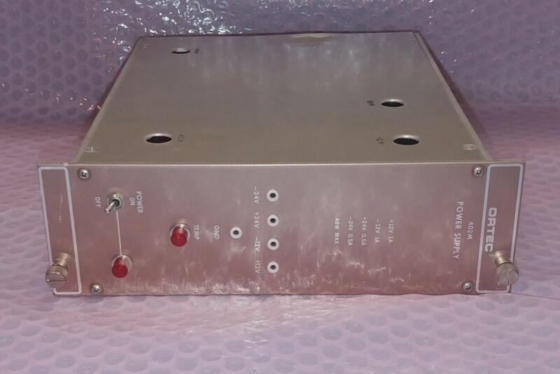 ORTEC Model 402M Plug-in Power Supply NIM BIN