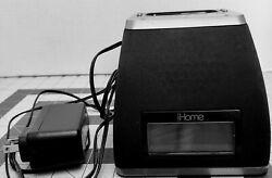 iHome iP21 App-Friendly Alarm Clock Cradle for iPhone , Black