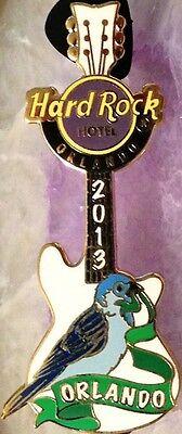 Hard Rock Hotel ORLANDO 2013 SPARROW BIRD GUITAR PIN - Songbird NEW in HRH Bag!