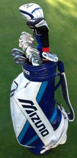 Golf clubs RH Mizuno Complete set + Staff bag Ghost putter