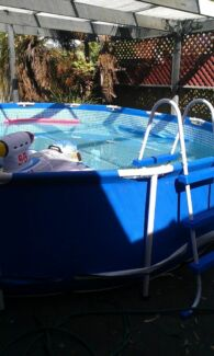 As new 15ft above ground pool with filter Adelaide CBD Adelaide City Preview