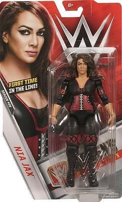 Nia Jax WWE Mattel Basic 72 Brand New Action Figure Toy - Mint Packaging