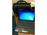 Asus Eee PC 10 inch Netbook 2GB Ram Windows 7 with Laptop Bag