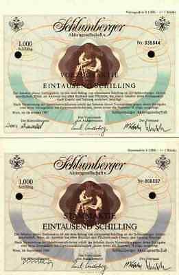 2 x Schlumberger 1986 + 1987 Wien Vöslau Goldeck Leibwächter Underberg Rheinberg