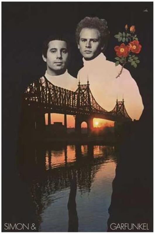 Simon and Garfunkel Bridge Over Troubled Water Poster