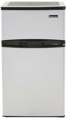 Мини-холодильники Mini Refrigerator Stainless Look 3.1