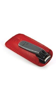 Concord Black Executive Nail Clipper Red Leather case