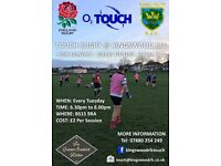 O2 Touch Rugby @ Kingswood RFC