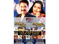 Kumar Sanu and Anuradha Paudyal concert on 7th July, Wembley