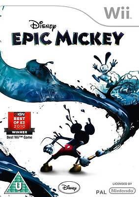 Disney Epic Mickey Wii Nintendo jeux jeu game games spelletjes 1515