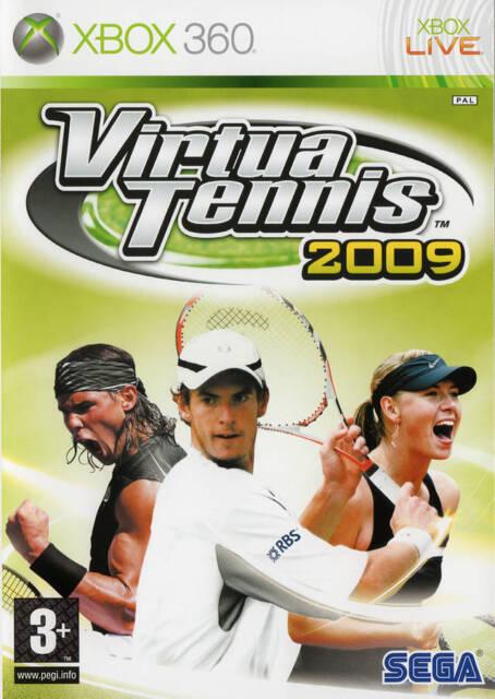 Virtua Tennis 2009 Microsoft Xbox 360 PAL Brand New