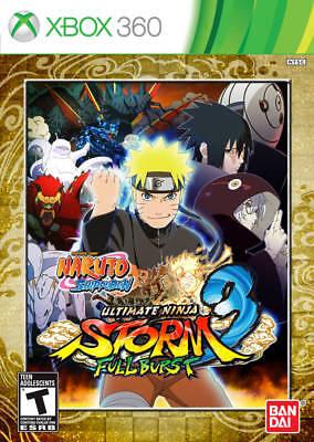 Naruto Shippuden Ultimate Ninja Storm 3 Full Burst (XBOX 360) New