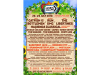 Kendal Calling 2018, family weekend tickets.