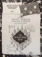 Harry Potter Black & Grey Reversible Single Duvet Set Primark Marauders Map - primark - ebay.co.uk
