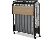 Folding Bed with Airflow Fibre Mattress with Powder Coat Single Folding Bed